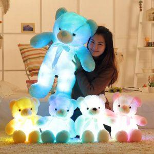 Светящаяся мягкая игрушка мишка с Алиэкспресс