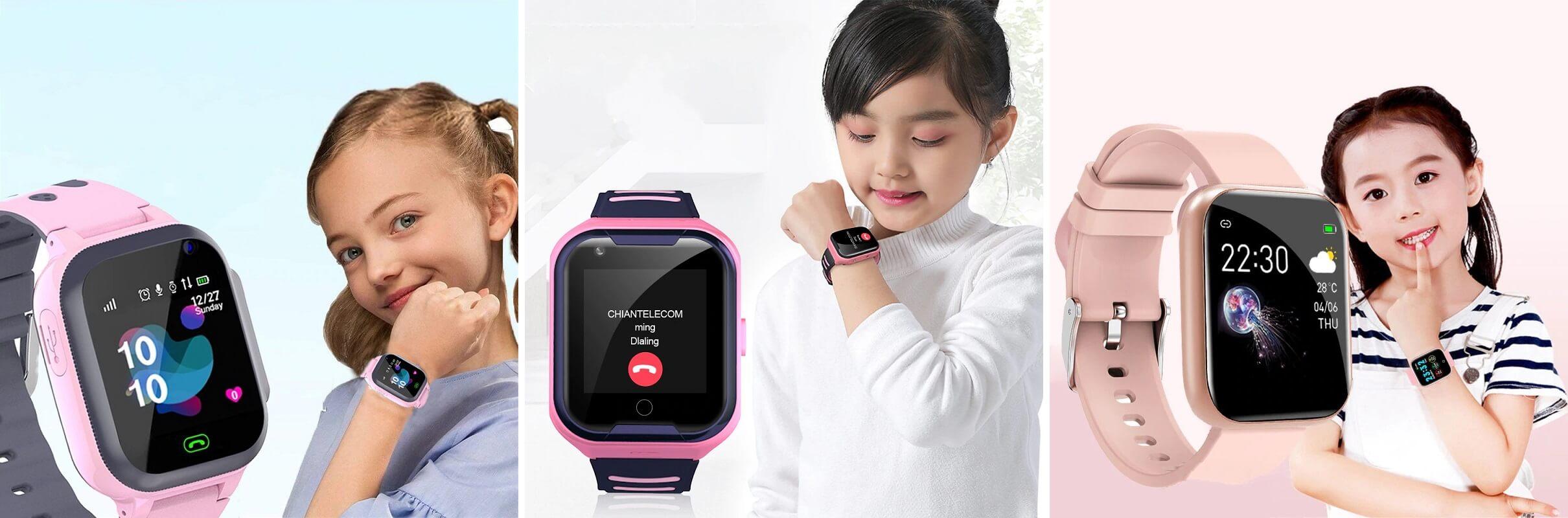 ТОП-10 детских смарт-часов с Алиэкспресс