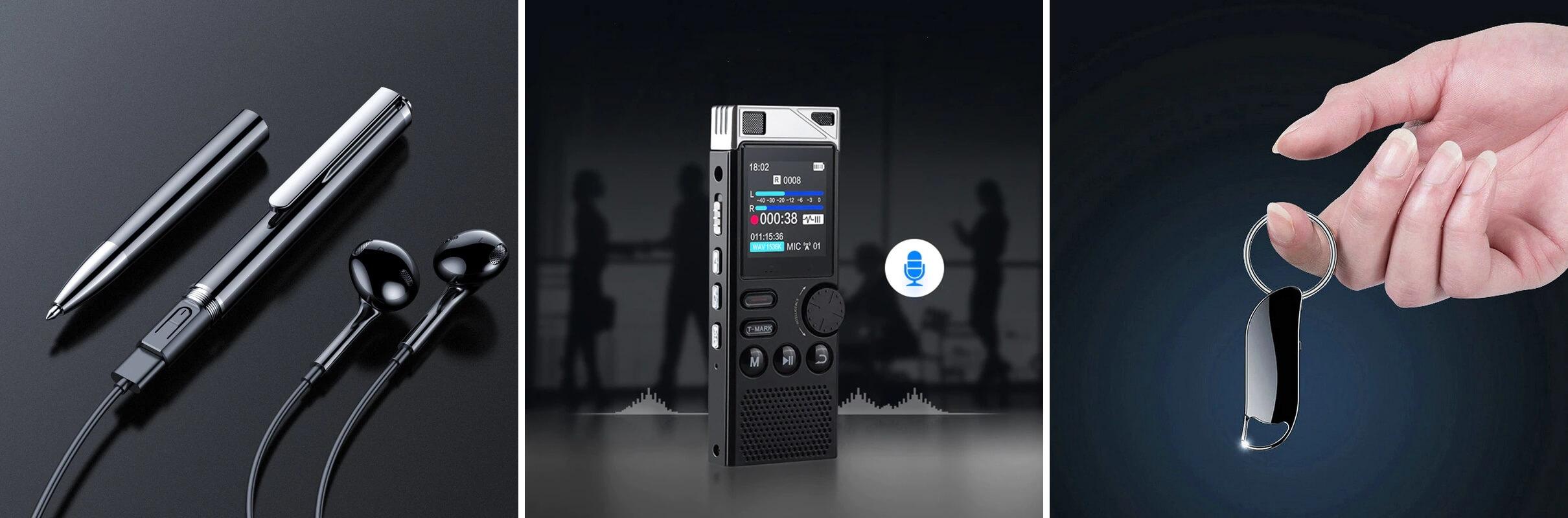 ТОП-10 диктофонов с Алиэкспресс
