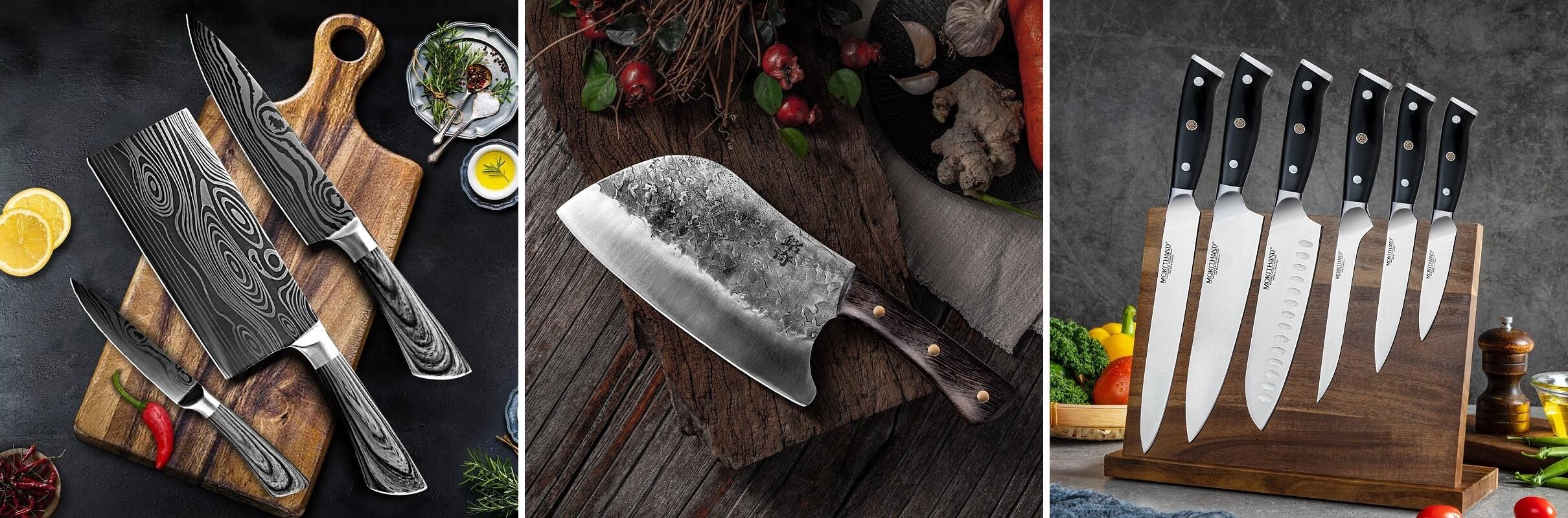ТОП-10 кухонных ножей с Алиэкспресс