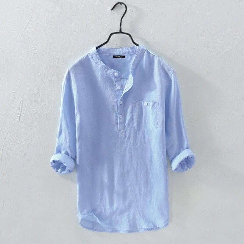 Мужская хлопковая рубашка Incerun с Алиэкспресс