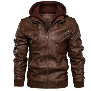 Мужская кожаная куртка Mountainskin SA722 с Алиэкспресс