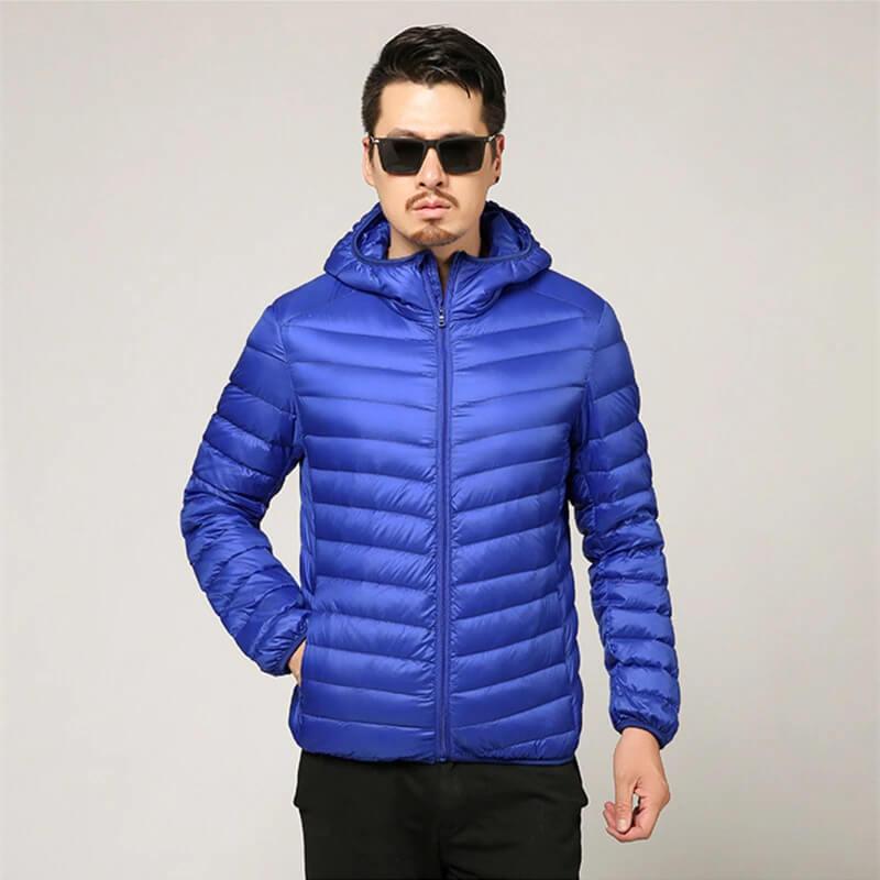 Мужская куртка на весну-осень Quanbo 5002 с Алиэкспресс