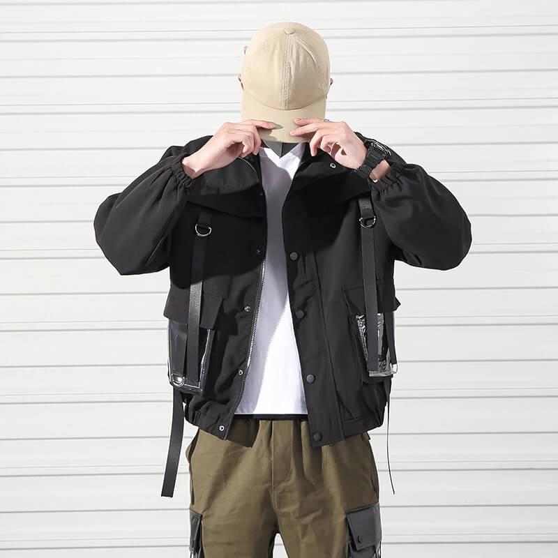 Мужская куртка в стиле милитари Volgins с Алиэкспресс