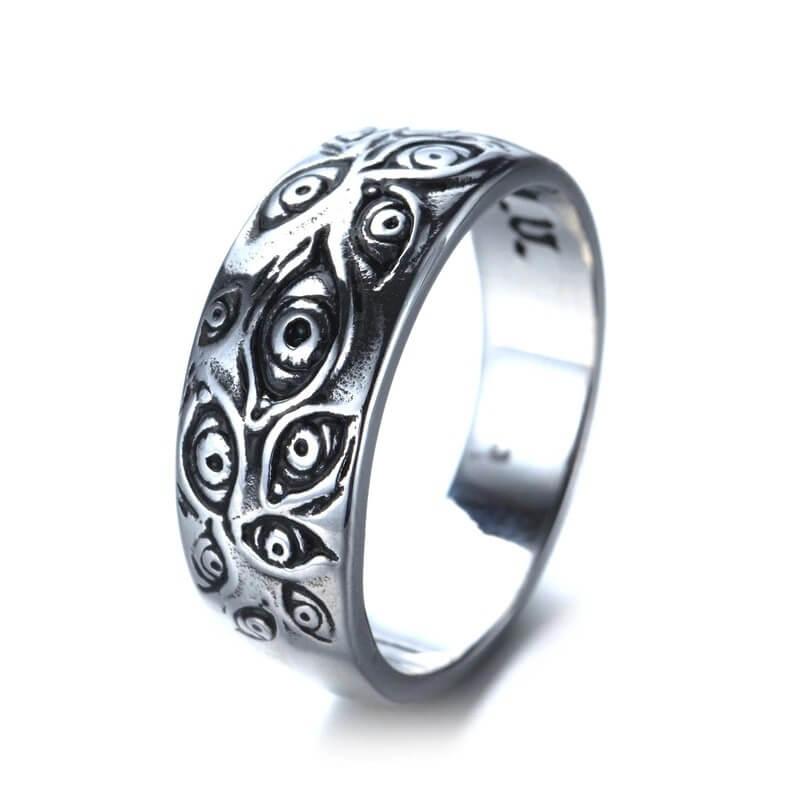 Мужское кольцо в готическом стиле FXM с Алиэкспресс