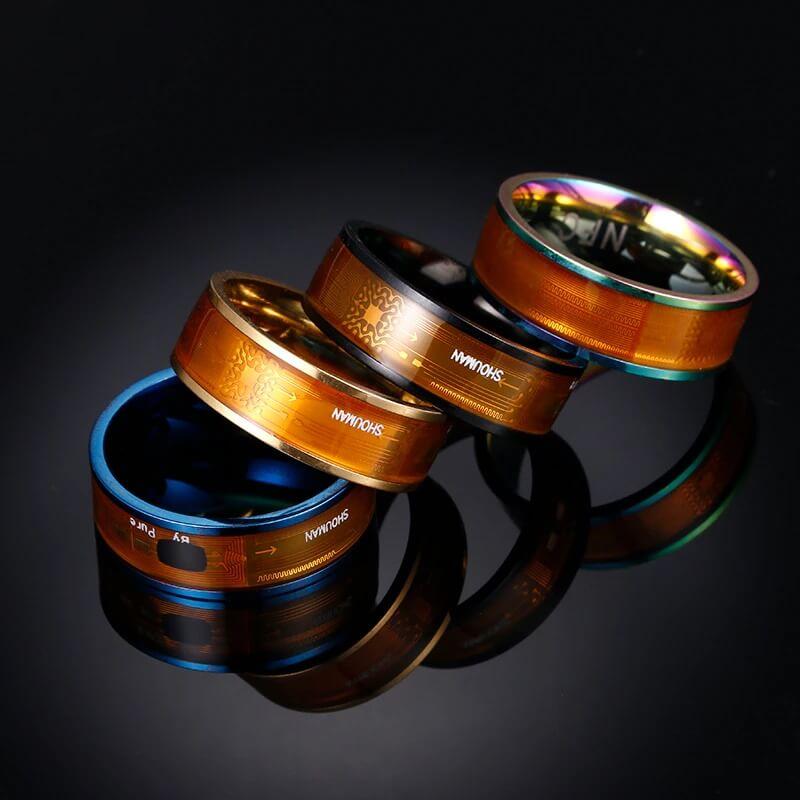 Мужское смарт-кольцо Shouman JWR341 с Алиэкспресс