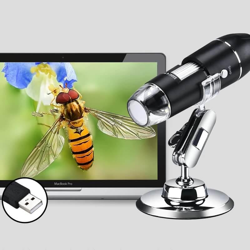 Портативный микроскоп Lefavor с Алиэкспресс