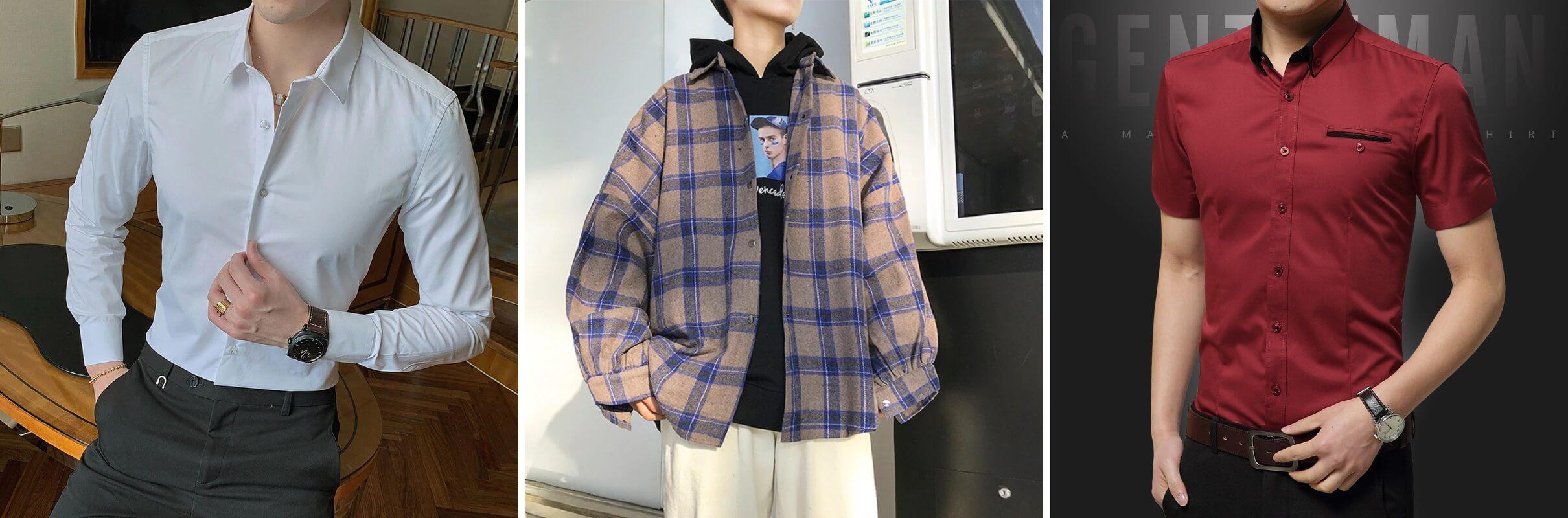 ТОП-10 мужских рубашек с Алиэкспресс