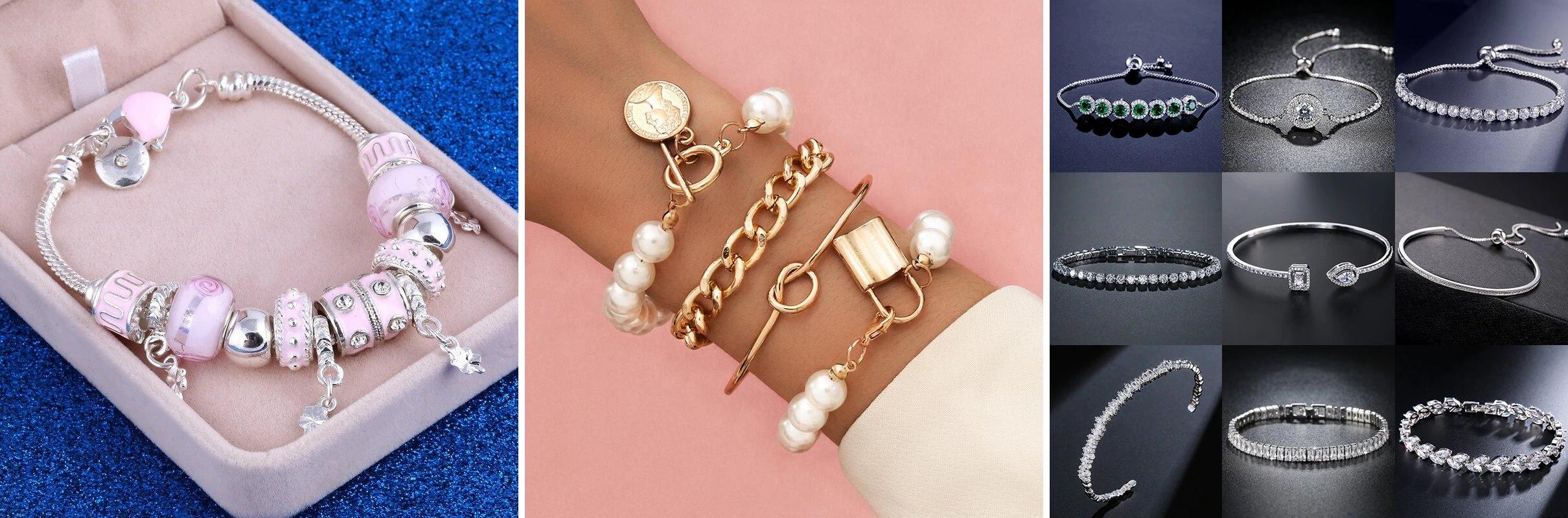 ТОП-10 женских браслетов на руку с Алиэкспресс