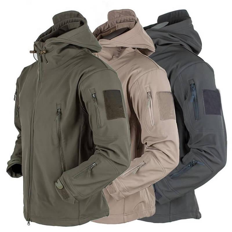 Тёплая мужская куртка The eu males с Алиэкспресс
