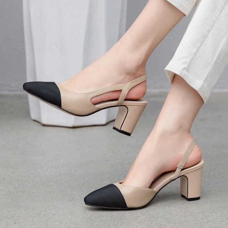 Женские кожаные туфли Meotina с Алиэкспресс