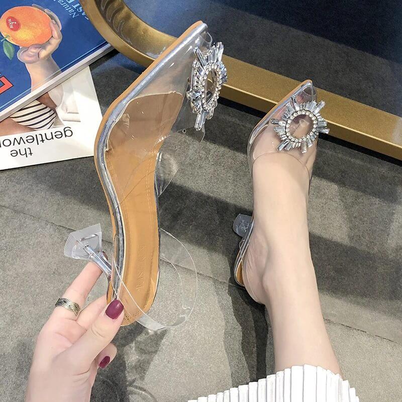 Женские прозрачные туфли-лодочки Kamucc с Алиэкспресс