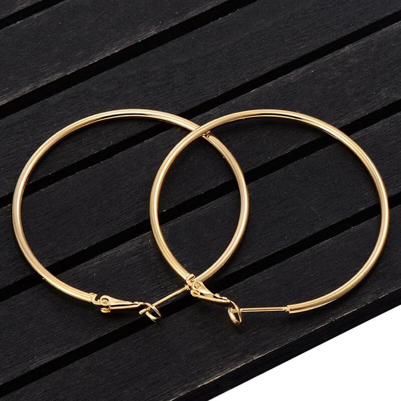 Женские серьги-кольца Guangtuo с Алиэкспресс