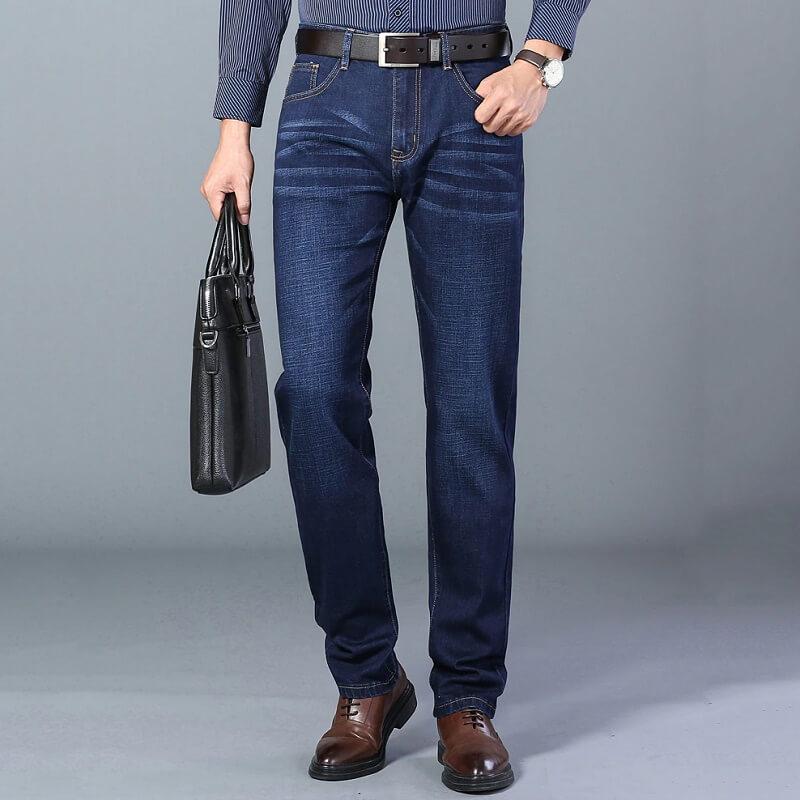 Классические мужские джинсы Brother Wang X916 с Алиэкспресс