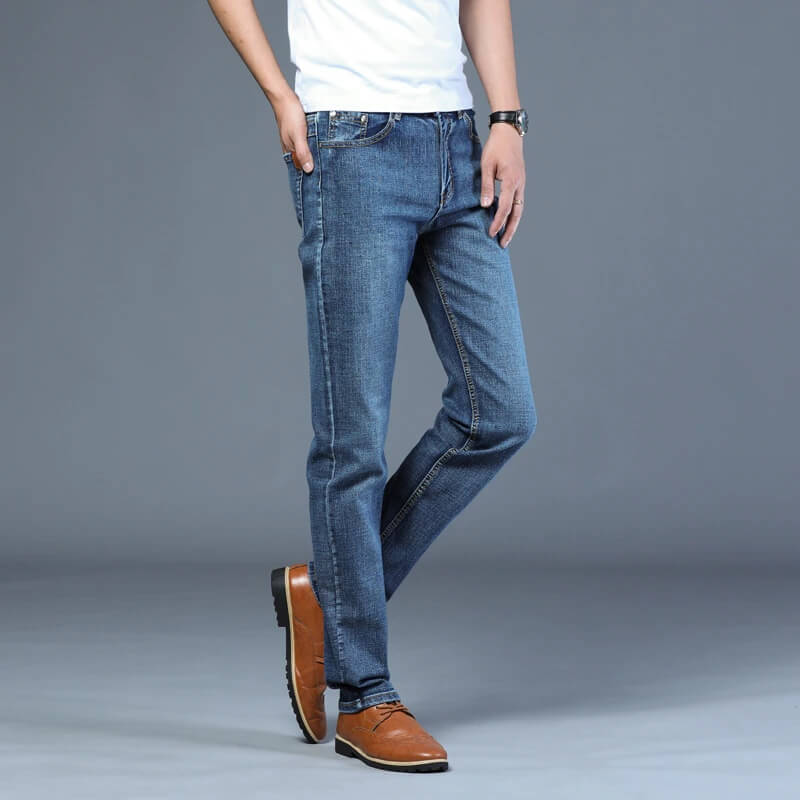 Мужские джинсы-стрейч Shop5244093 816 с Алиэкспресс