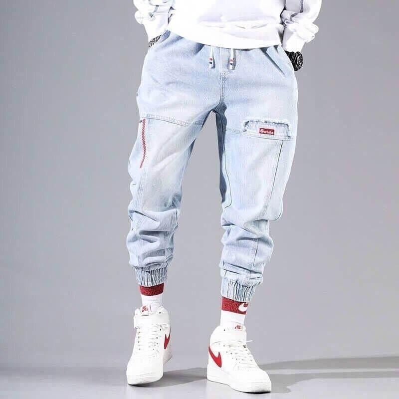Мужские джинсы в стиле хип-хоп Misniki MJ006 с Алиэкспресс