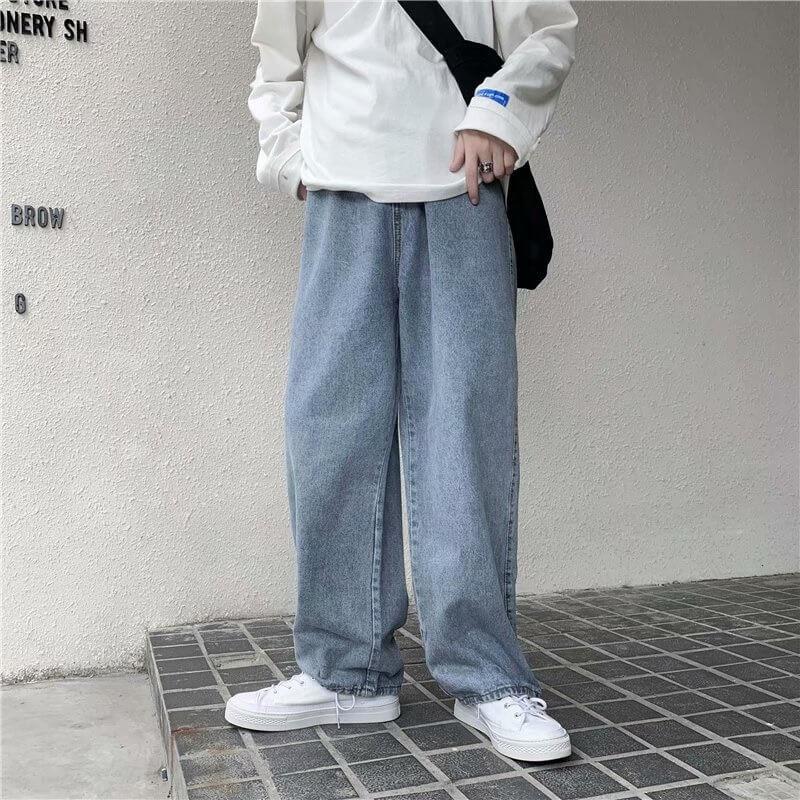 Мужские широкие джинсы Majesee h26638 с Алиэкспресс