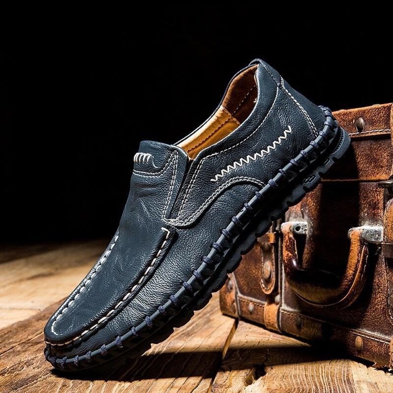 Мужские туфли из коровьей кожи Chaishou с Алиэкспресс