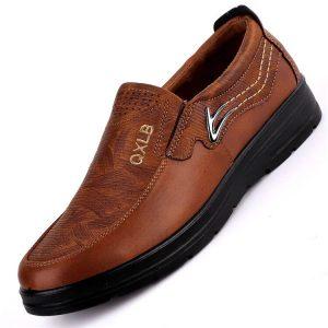 Мужские туфли на плоской подошве Buruijing с Алиэкспресс