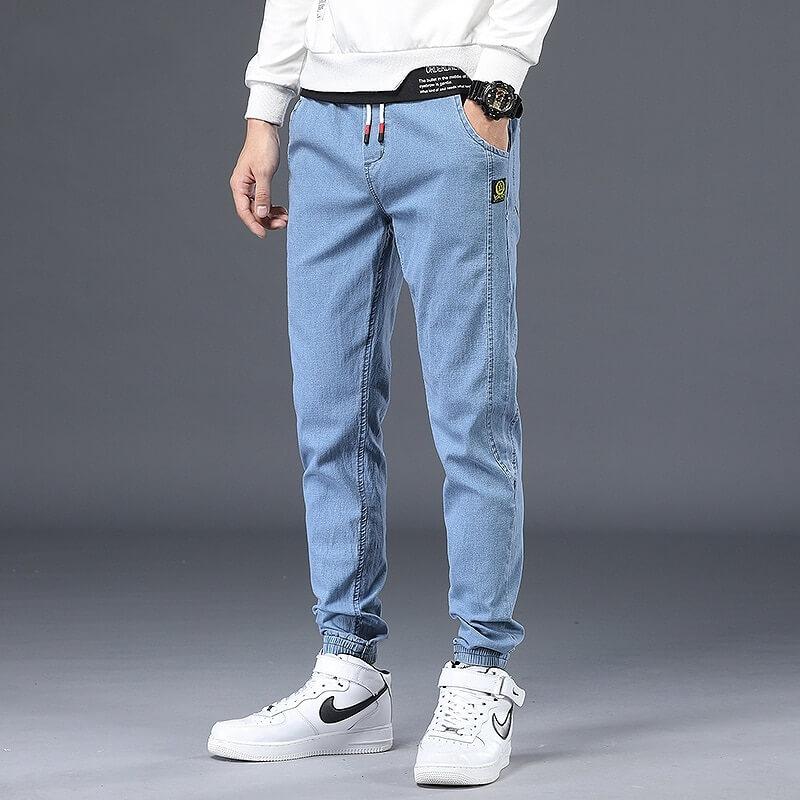 Мужские узкие джинсы Jantour 2021001 с Алиэкспресс