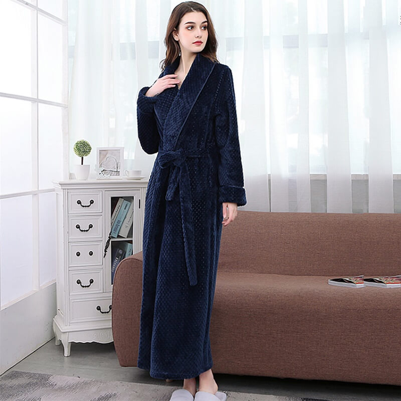 Тёплый женский халат Ruilingsha с Алиэкспресс