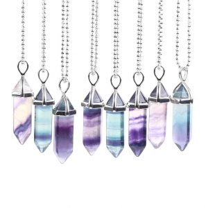 Женская подвеска из флюорита CSJA Jewelry с Алиэкспресс