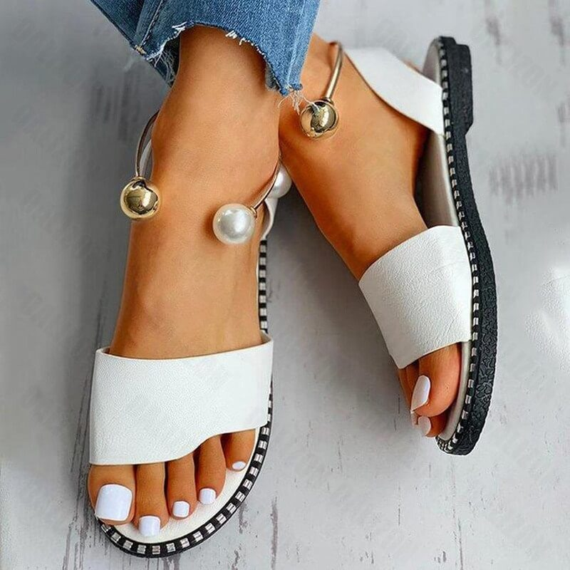 Женские сандалии с браслетами Oalizon с Алиэкспресс