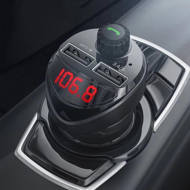 Автомобильная зарядка для телефона Kuulaa LC01 2 порта с Алиэкспресс