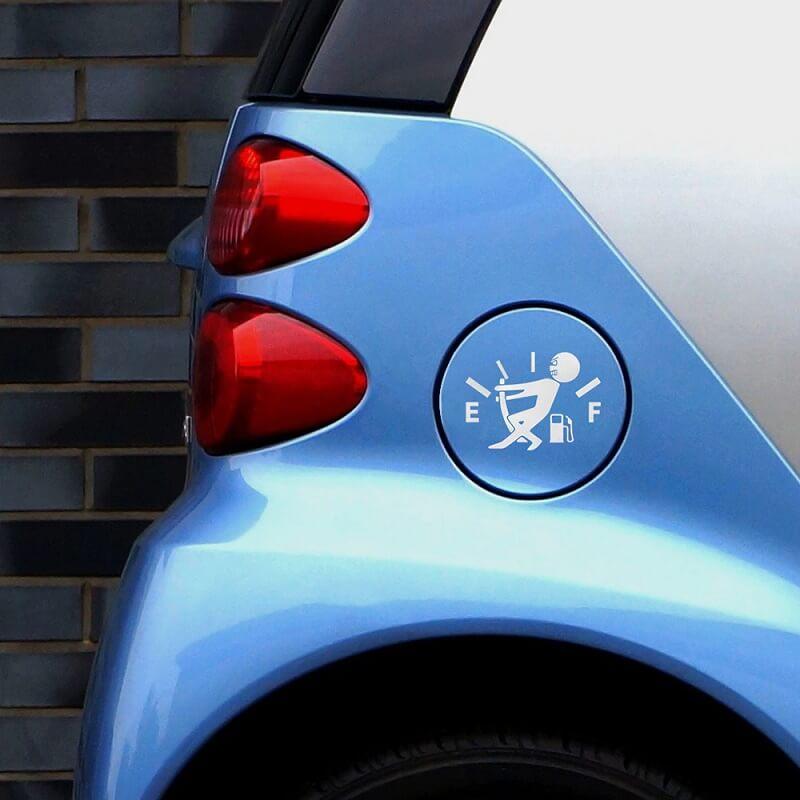 Наклейка на автомобиль Топливный бак с Алиэкспресс