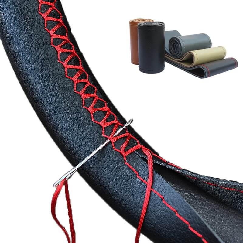 Оплетка на руль со шнуровкой Gnupme с Алиэкспресс