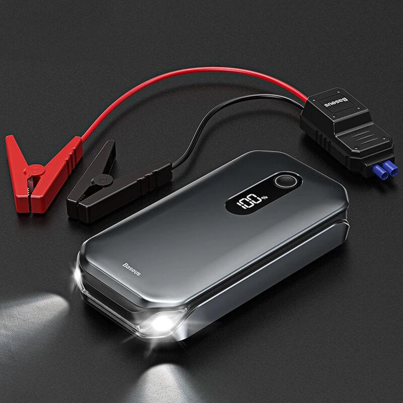 Пусковое устройство для автомобиля Baseus 12000 мАч с Алиэкспресс