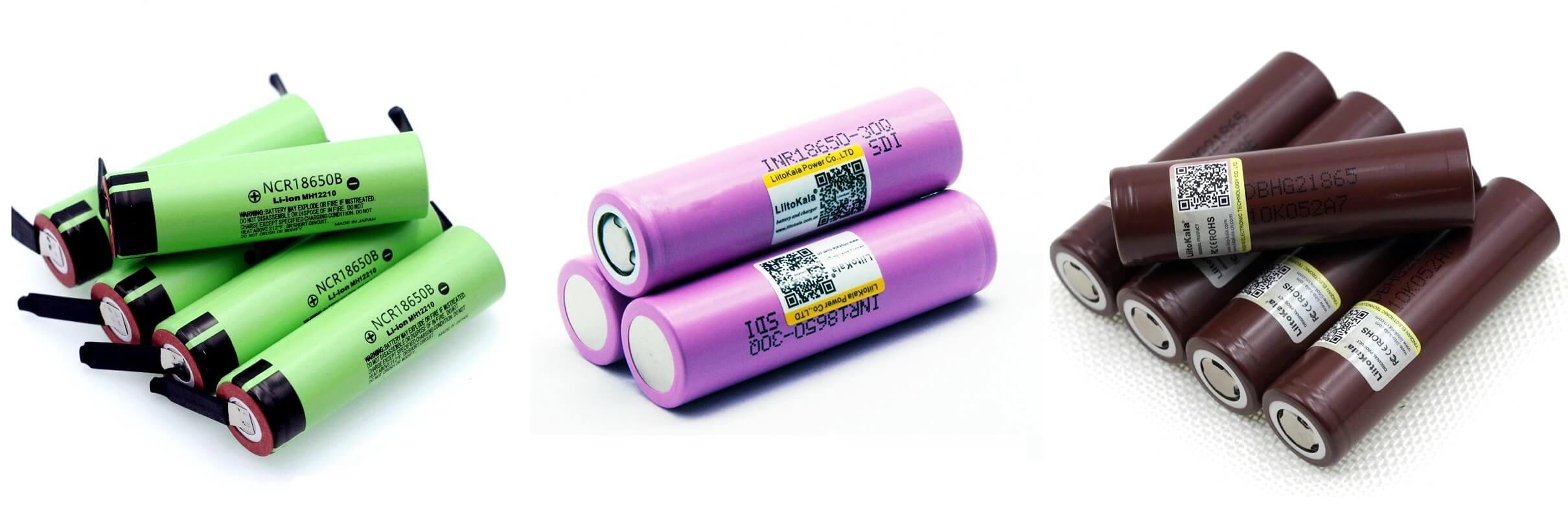 ТОП-10 аккумуляторов 18650 с Алиэкспресс