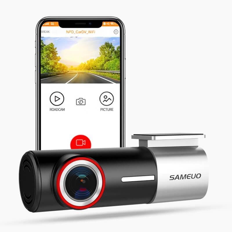 Видеорегистратор с 2 камерами Sameuo U700 с Алиэкспресс