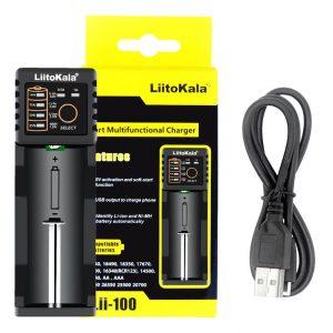 Зарядное устройство для аккумуляторов LiitoKala Lii-100 с Алиэкспресс