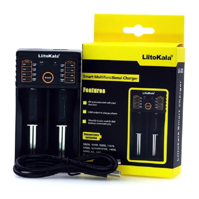 Зарядное устройство для аккумуляторов LiitoKala Lii-202 с Алиэкспресс