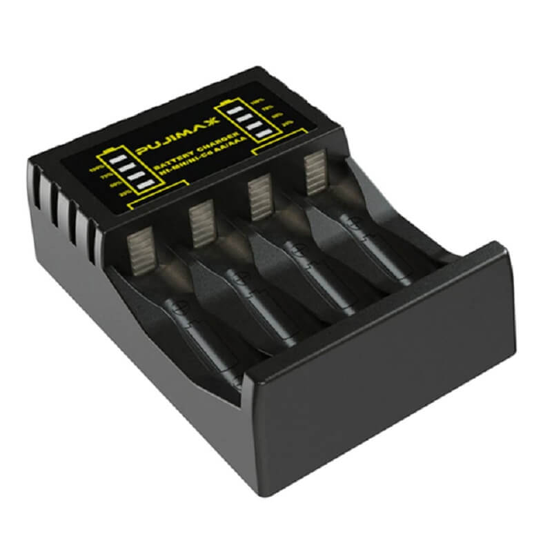 Зарядное устройство для аккумуляторов Pujimax N4008 с Алиэкспресс